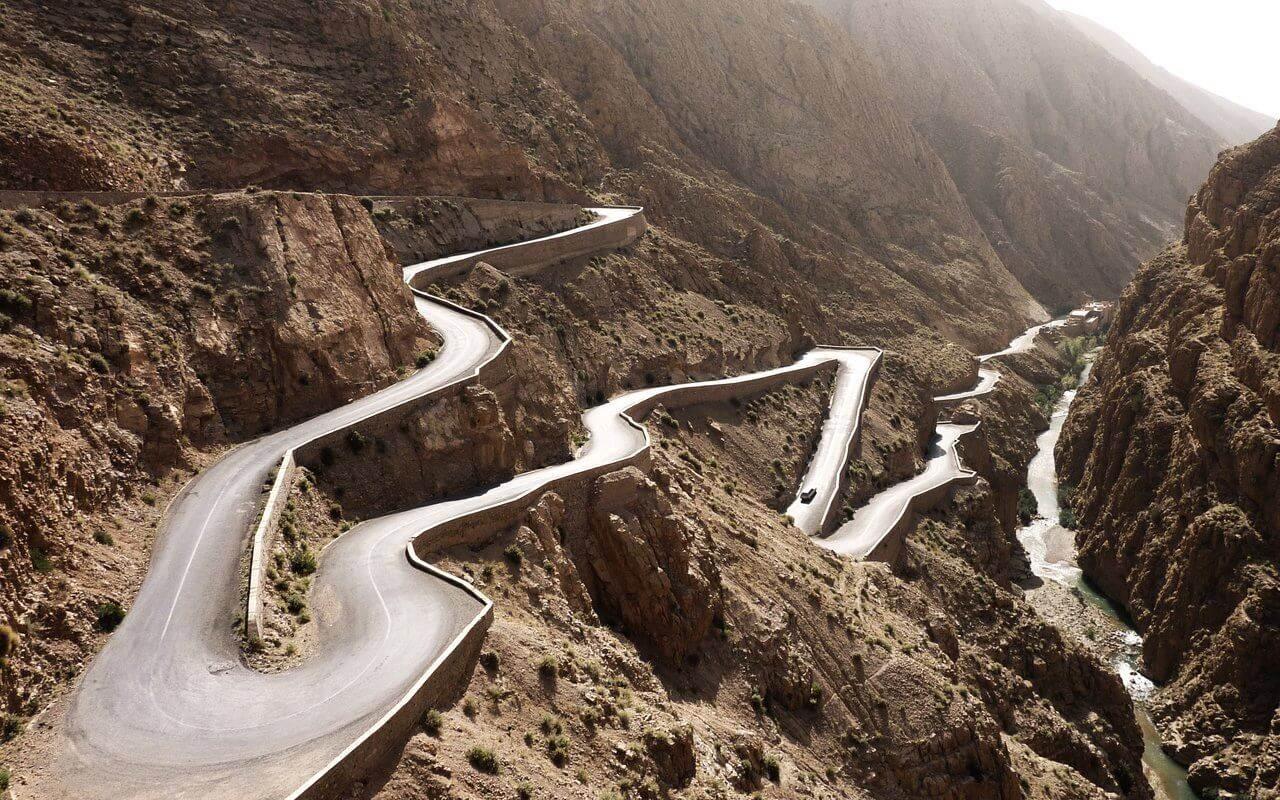 Best Places in Morocco-le désert Maroc