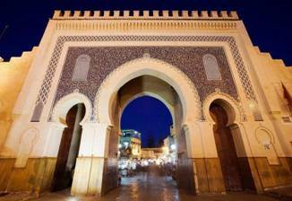 Bab Bojeloud, das Tor zur Medina Fès el-bali