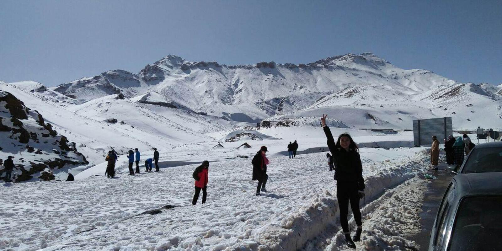 Ice trekking Morocco