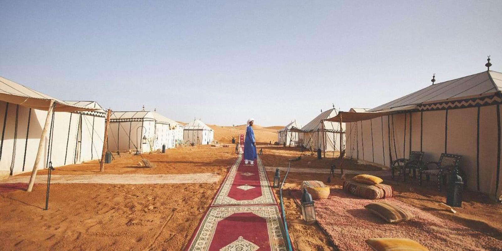 Desert Camping Morocco