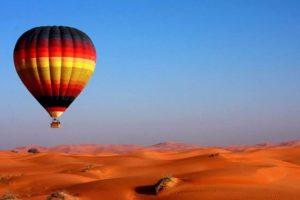 hot air balloon- Heißluftballon marrakesch